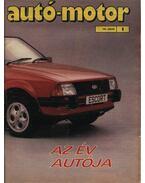 Autó-Motor 1981. (hiányos) - Kókai Imre (szerk.)