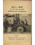 MIA és MIB jelű kis stabil motorok használati utasítása - Balázs György