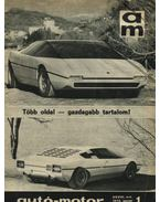 Autó-motor 1975. január-december (teljes, 1-24. szám) - Kókai Imre (szerk.)