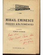 Mihail Eminescu összes költeményei - Eminescu, Mihai