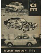 Autó-motor 1970. (teljes) - B. Pór Ibolya