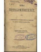Római irodalomtörténet - Leffler Sámuel