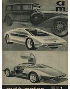 Autó-motor 1974. január-december (teljes 1-24 szám) - Kókai Imre (szerk.)