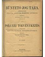 Büntető jog tára, Polgári törvénykezés XLI. kötet (1901. év) - Németh Péter - Dr. Glücklich Emil (szerk.)