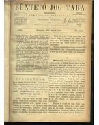 Büntető jog tára, Polgári törvénykezés XX.kötet (1890. év) - Németh Péter - Dr. Glücklich Emil (szerk.)
