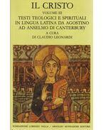 Il Cristo Volume III - Claudio Leonardi