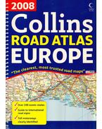 Collins Road Atlas Europe