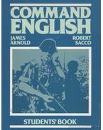 Command English - Arnold, James, Sacco, Robert