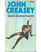 Death in High Places - Creasey, John