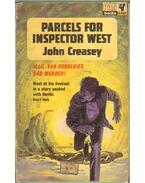 Parcels for Inspector West - Creasey, John