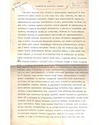 Irodalom és szociális feladat című írásának eredeti kézzel javított, aláírt gépirata - Cs. Szabó László