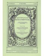 Hadtörténelmi közlemények 110. évf. 1997/4. szám (dedikált) - Csákváry Ferenc (főszerk.)
