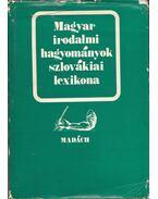 Magyar irodalmi hagyományok szlovákiai lexikona - Csanda Sándor