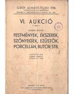 VI. aukció - Csányi Károly