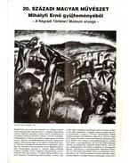 20. századi magyar művészet Mihályfi Ernő gyűjteményéből - Csaplár Ferenc