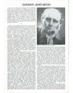 Gadányi Jenő művei - Csaplár Ferenc