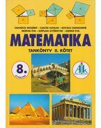 Matematika tankönyv 8. évfolyam II. - Csatár Katalin, Csahóczi Erzsébet, Kovács Csongorné, Szeredi Éva, Széplaki Györgyné, Morvai Éva