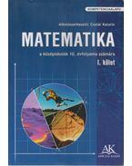 Matematika I. - Csatár Katalin