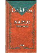 Napló 1912-1913 - Csáth Géza