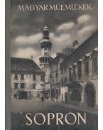 Sopron - Csatkay Endre
