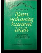 Nem sokaság hanem lélek - Csetri Lajos
