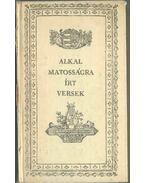 Alkalmatosságra írt versek (reprint) - Csokonai Vitéz Mihály