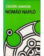Nomád napló - Csoóri Sándor