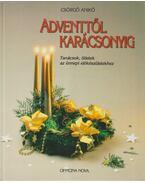 Adventtől karácsonyig - Csörgő Anikó