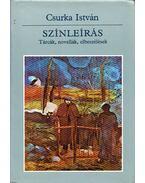 Színleírás (dedikált) - Csurka István