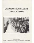 Gazdaságszociológiai tanulmányok - Czakó Ágnes, Gyenei Márta, Lengyel György