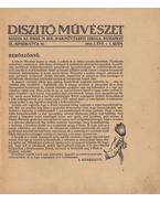 Diszitő művészet 1914. 1. évf. 1. szám - Czakó Elemér