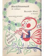 Blockflötenmusik für Anfänger  / Recorder Music for Beginners - Czidra László