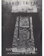 Damir Tripar Naples - 13. /5/ 94. ,,Accademia di belle arti