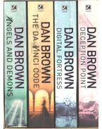 Angels and Demons; The Da Vinci Code; Digital Fortress; Deception Point - Dan Brown