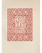 Az új élet (fordító által aláírt) - Dante Alighieri
