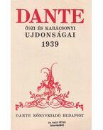 Dante őszi és karácsonyi ujdonságai 1939