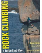 Rock Climbing in England and Wales - David Simmonite