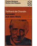 Auswahl aus dem Werk - de Chardin, Pierre Teilhard