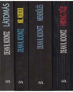 4 db Dean R. Koontz regény - Dean R. Koontz