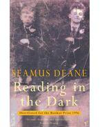 Reading in the Dark - DEANE,SEAMUS