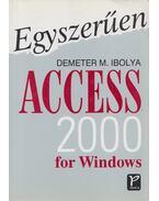 Egyszerűen Access 2000 for Windows - Demeter M. Ibolya