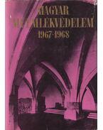 Magyar Műemlékvédelem 1967-1968 - Dercsényi Dezső, Entz Géza, Havassy Pál, Merényi Ferenc