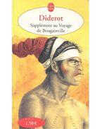 Supplément au voyage de Bougainville - Diderot, Denis