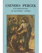 Csendes percek 1986. szeptember-október - Dienes László (szerk.)