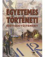 Egyetemes történeti szöveggyűjtemény - Diószegi István