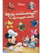 Mesés szakácskönyv és matricagyűjtő album! - Disney