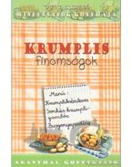 Krumplis finomságok - Dobi Ildikó