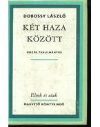 Két haza között - Dobossy László