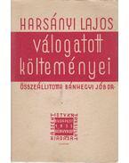 Harsányi Lajos válogatott költeményei - Dr. Bánhegyi Jób