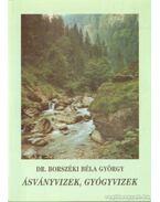 Ásványvizek, gyógyvizek - Dr. Borszéki Béla György